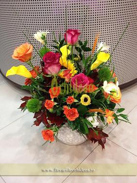 "Aranjament floral ""In culori"""