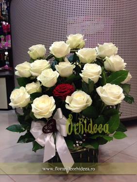 """Cos cu trandafiri """"Pace"""""""