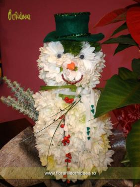 Gerila, om de zapada din crizanteme si garoafe cu palarie verde