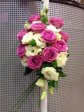 Spirala alb-roz