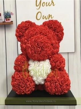 Teddy Bear Love rosu